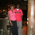 With my brother Obuya, Sea Cliff Hotel