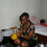 Baby Sis Tina ujaacha asili yako, msosi kwanza ehe!