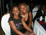 With Halima at Leaders Club Miss TZ 2008