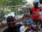 Sasha's birthday party. Amani & Sasha