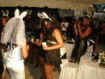 Bride to be dancing