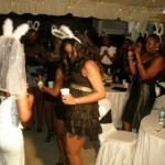 Bride to be dancing