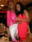 With Bella at Mange's wedding reception Kempinski Hotel