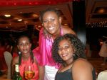 With Neema and her sister