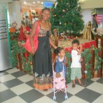 With Amani & Malaika at Mlimani City Mall
