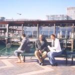 Nikiwa na baba Sydney Harbour