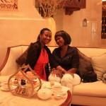 High Tea(Afternoon Tea) with my friend Joyce at Al Bustan Palace