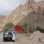 Kona ya kuelekea Zighy Bay kukatiza mountain