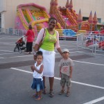 With my kids