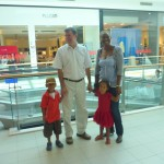 City Center Mall with my family