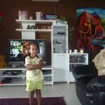 Miss Malaika at home
