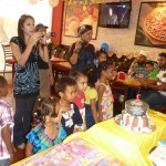 At friend birthday party
