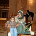 My friend Alia & her daughter