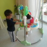 Play time, Amani & baby Malaika