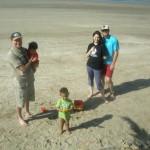 Hubby, baby Malaika, Amani, Jenny & Dave