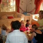 Amani's friend birthday party