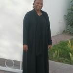 My friend Fatimah. Erica's mum
