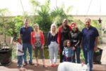 With family, kaka yake hubby Lex & his family mkewe Sue, his daughter Amanda & Angela