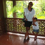With my girl Malaika outside our room