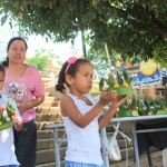 Kids with Lanton ready to make a wish