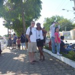 With my husband. Photo taken by Amani