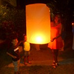 We light our Lanterns