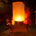 We light our Lanterns