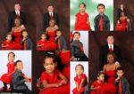Our Family Christmas Portrait Photos