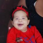 Baby Malaika, 3months old