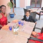 With Amani & Malaika