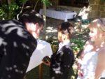 I'm ring bearer at my sis Jenny wedding, Tasmania Australia. Nov.2011