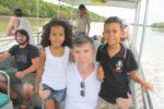 With my dad and Amani, Darwin Australia. Oct 2011