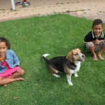 With my sis Malaika and Grace dog at my sis Skye house. Adelaide Australia Nov. 2011