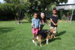 At my sis Skye house with Malaika and Grace. Adelaide Australia. Nov 2011