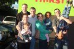 With family Brad, Sarah, Hudson, Dad, Jenny, Malaika and Dave. Hobart, Australia Nov. 2011