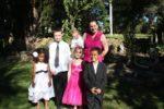With sis Malaika, sister in law Sarah and James call me uncle hahahaaa...Tasmania Australia. Nov 2011