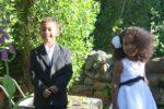 I was ring bearer and my sis Malaika was flower girl at our sis Jenny wedding. Tasmania, Australia Nov. 2011
