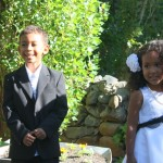 I was ring bearer and my sis Malaika was flower girl at our sis Jenny wedding. Tasmania, Australia Nov. 2011