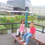With my sister Malaika Ibis Hotel Amsterdam June. 2011