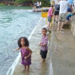 Went to feed the fish, Darwin Australia Oct. 2011