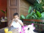 Breakfast time in Chieng Mai, Thailand Nov.2011