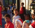 School Christmas play, Dec 2011