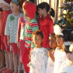 School Christmas play, I was a star. Dec 2011