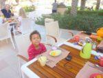 Breakfast time Shangri-La Hotel Muscat. Dec 2011