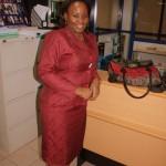 Nilikwenda msalimia my friend Christina ofisini kwake