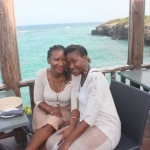 Karambezi Sea Cliff with baby sis Tina
