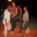 Tina, Salome, Kay and Sharon