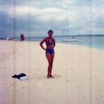My hubby alikufaje na hii picha , ikabidi atangaze ndoa kabisa lol! Bongoyo Island Dar es Salaam 2001