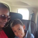 Amani and aunt yake Tina