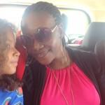 Here she is Malaika na aunt yake Tina